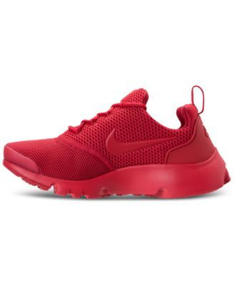 febf979360361 Nike Boys  Presto Fly Running Sneakers from Finish Line - Red 6 ...