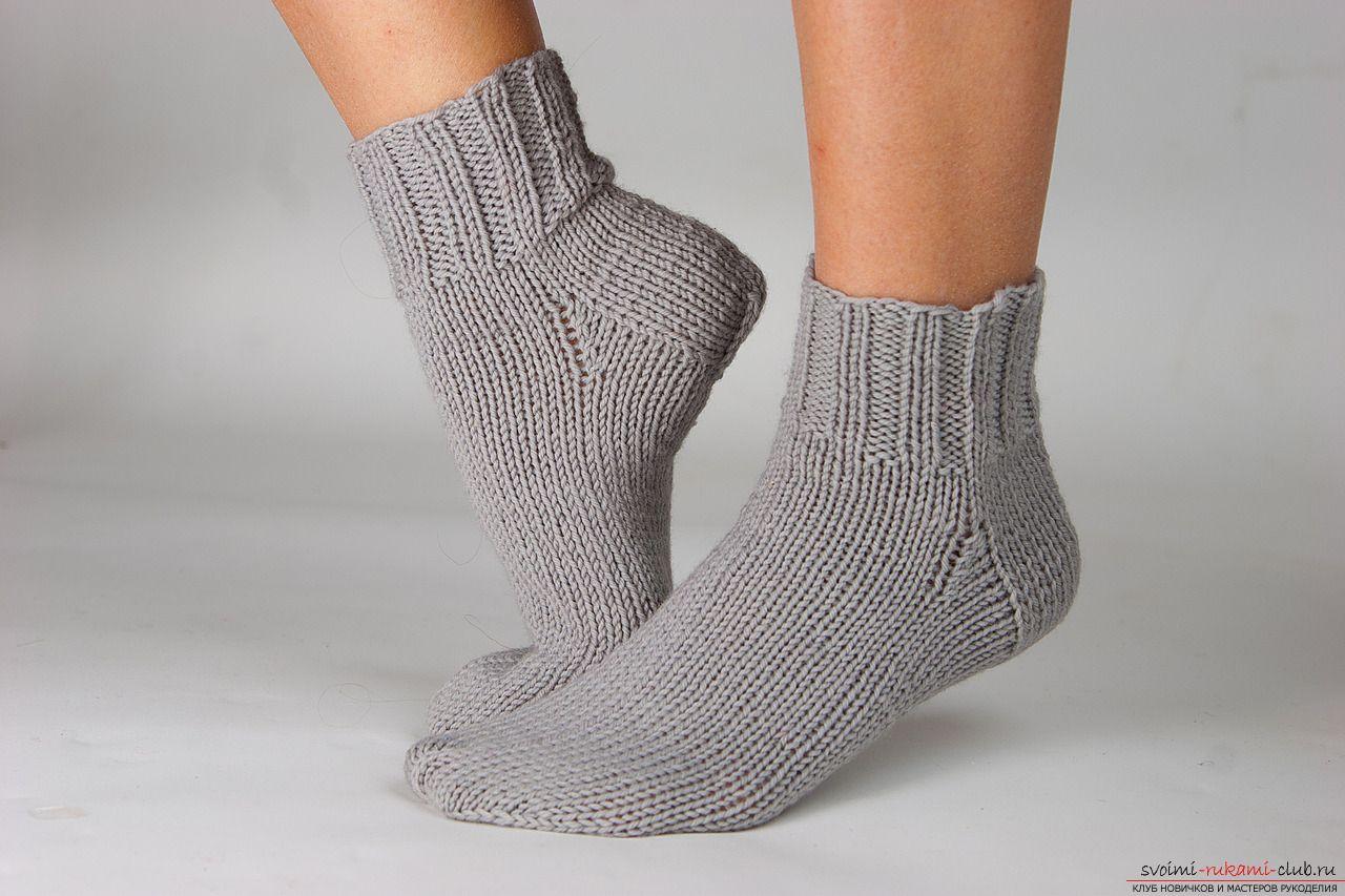 вязание носков на 2 спицах фото 1 вязание Crochet вязаные