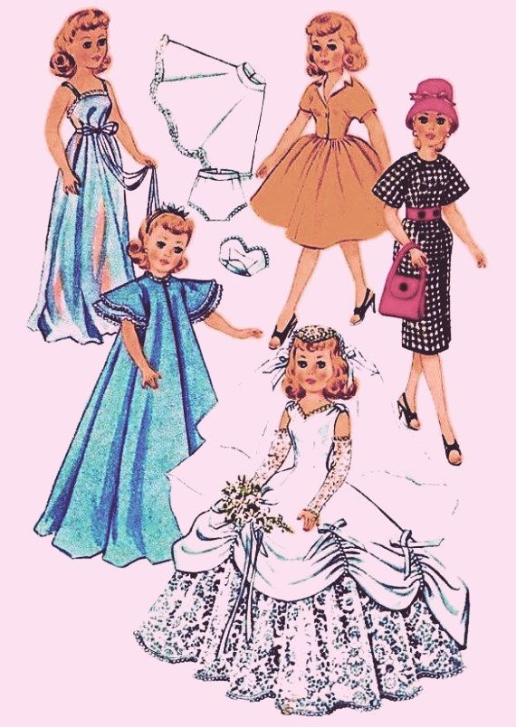 Instant PDF Download Vintage Sewing Pattern to make by ickythecat ...