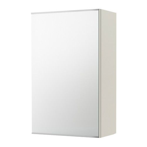 LILL…NGEN Meuble  miroir 1 porte blanc