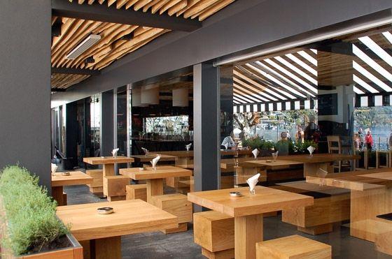 Seven easy restaurates pinterest restaurantes for Proposito del comedor buffet