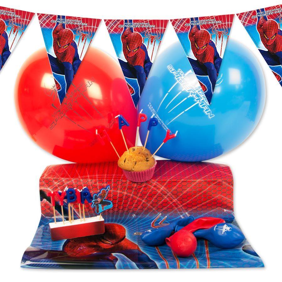 super h ros kit d co malin spiderman anniversaire. Black Bedroom Furniture Sets. Home Design Ideas