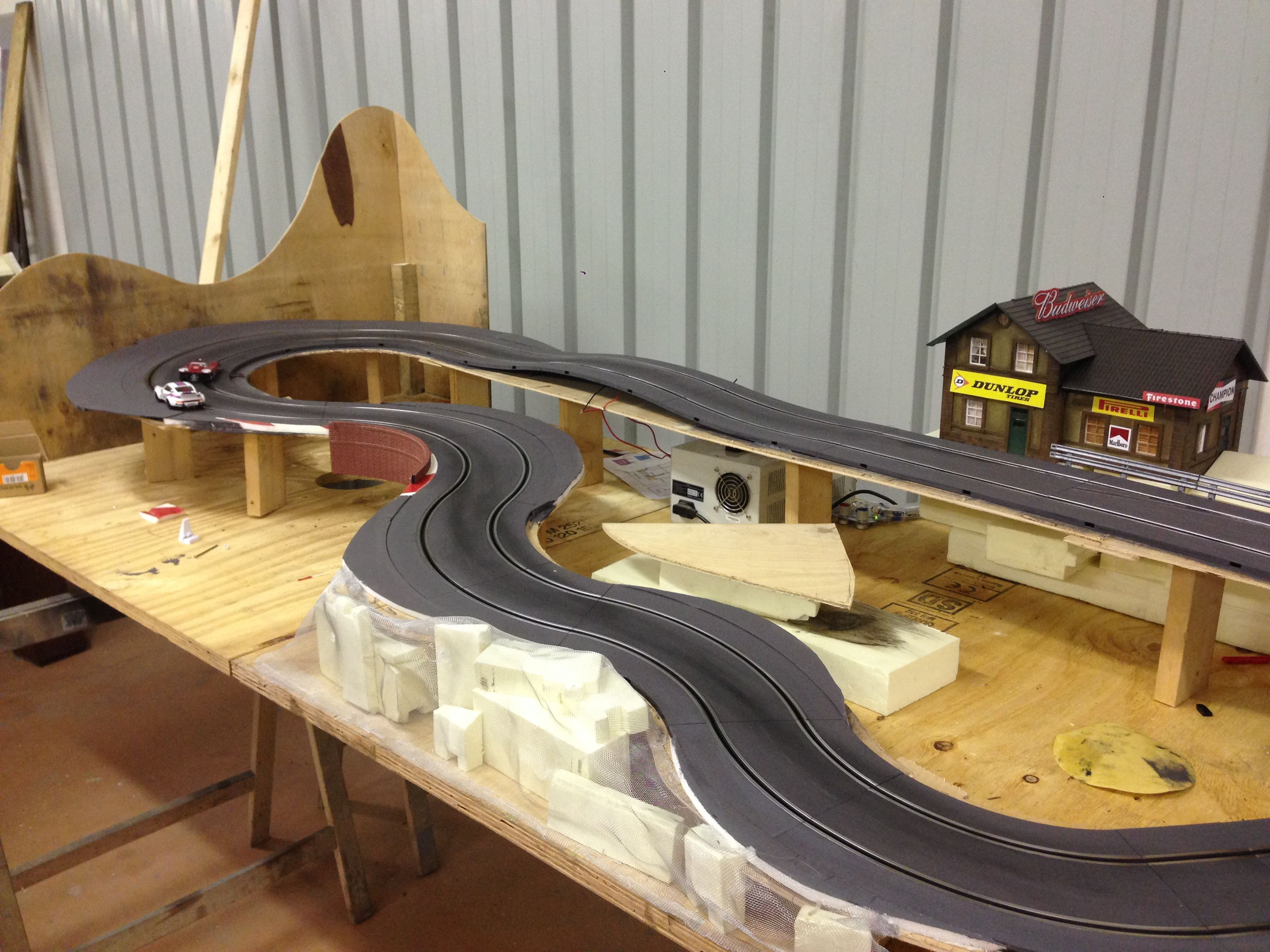how to build a good scalextric track