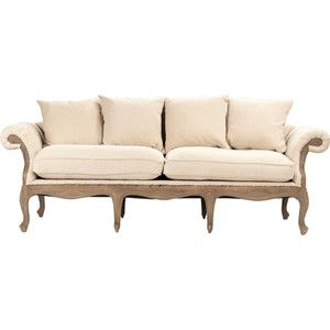 zentique deconstructed french country style sofa living room rh pinterest com English Country Sofa Pillows Country Colonial Sofa