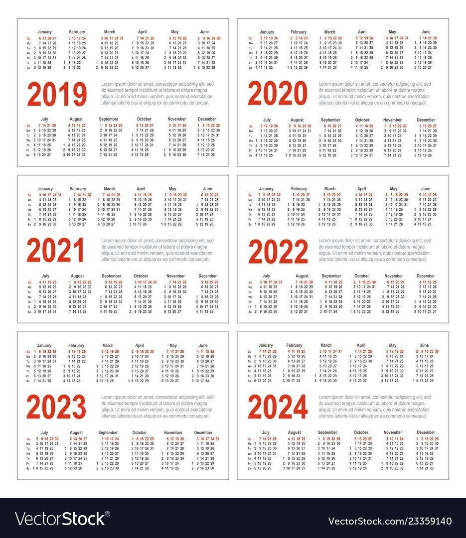 Calendar Template 2022 2023.Calendar For 2021 2022 2023 In 2021 Calendar Printables Marketing Calendar Template Calendar Template