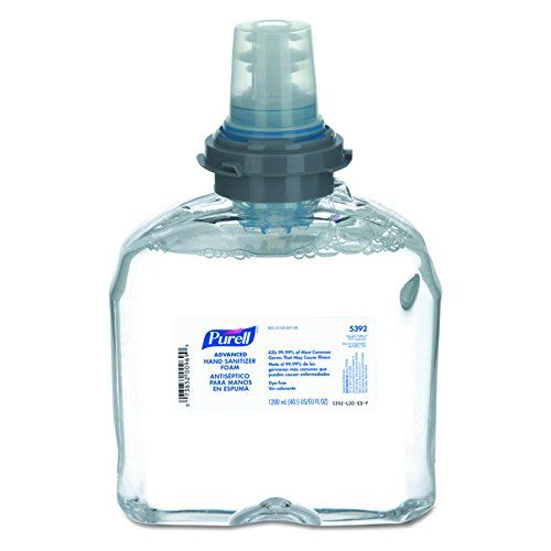 Purell 539202ct Advanced Tfx Foam Instant Hand Sanitizer Refill