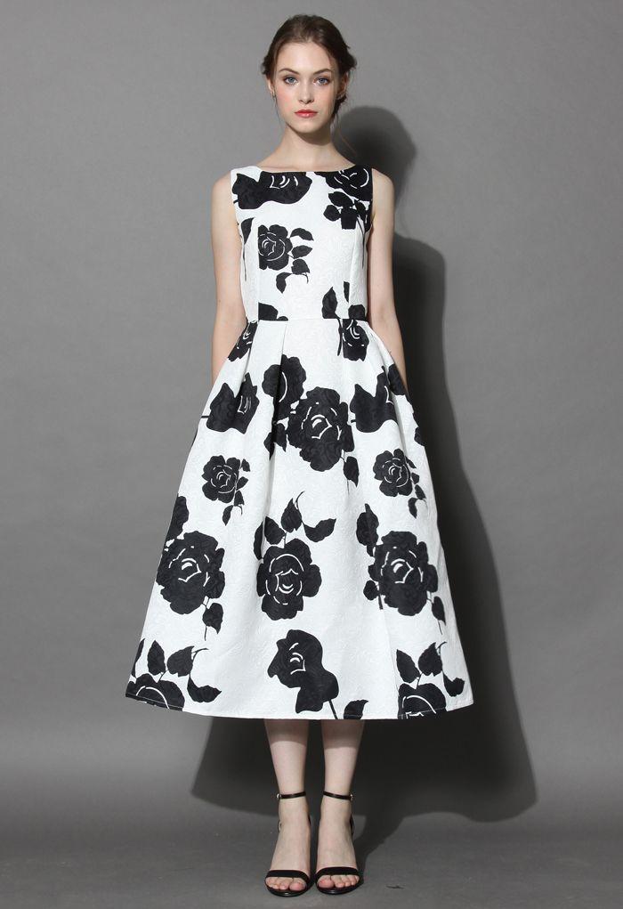 Miss Rosy Jacquard Prom Dress | Unique fashion, Dresses dresses and ...