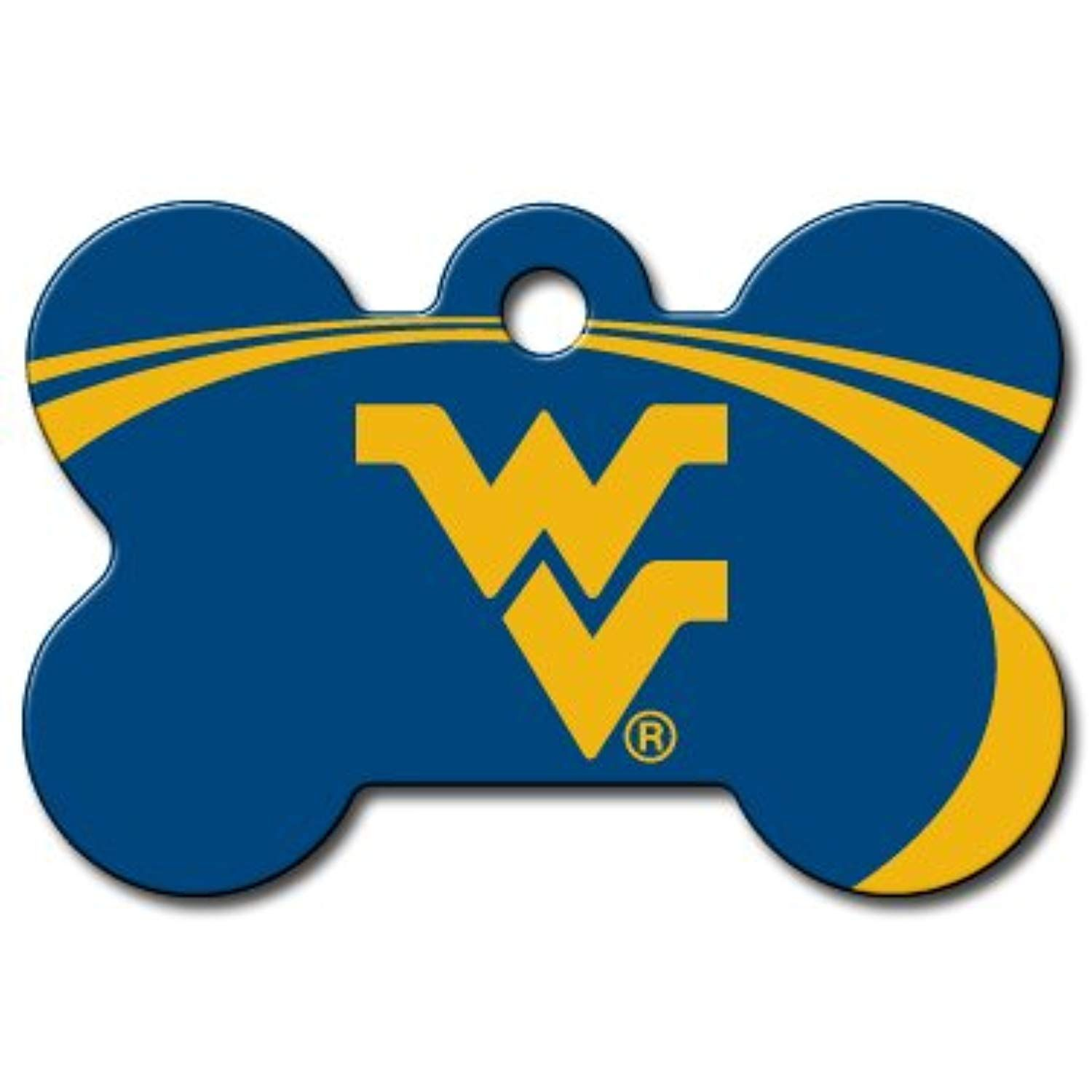 Personalized Laser Engraved 15 X 1 Inch West Virginia Mountaineers