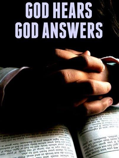 God hears, God answers.   https://www.facebook.com/photo.php?fbid=704702199609769