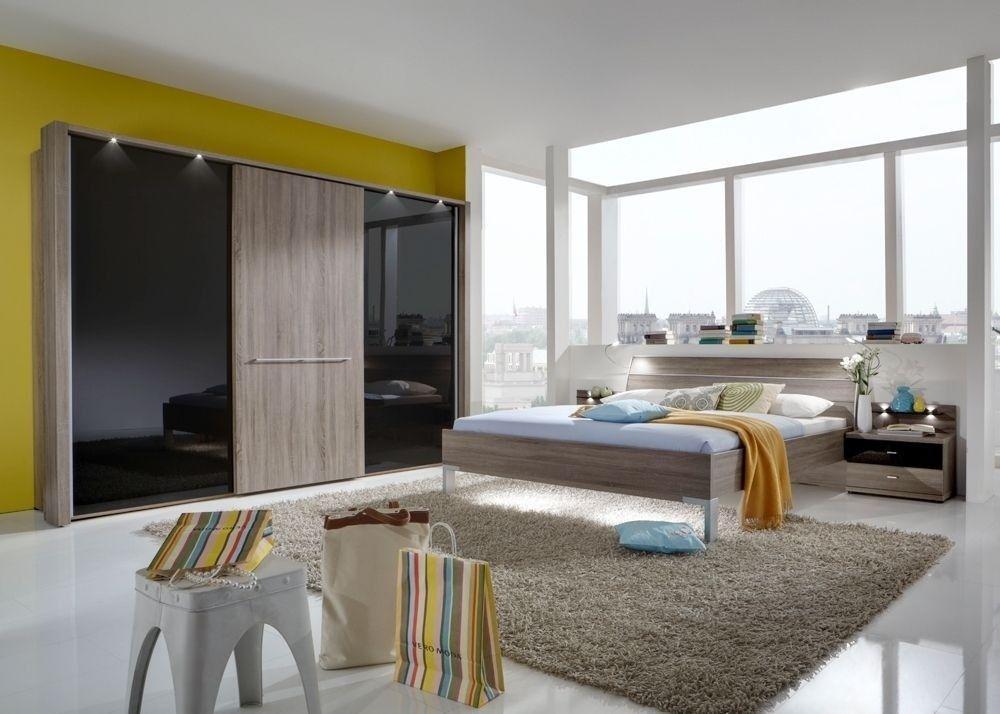 Schlafzimmer komplett Treviso Eiche Schwarz 9449 Buy now at https - schlafzimmer eiche