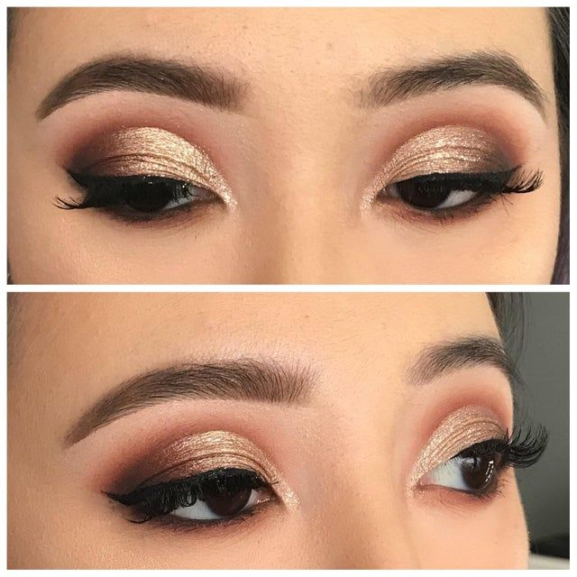 Took a makeup class and learnt how to do a cut crease on Asian eyes