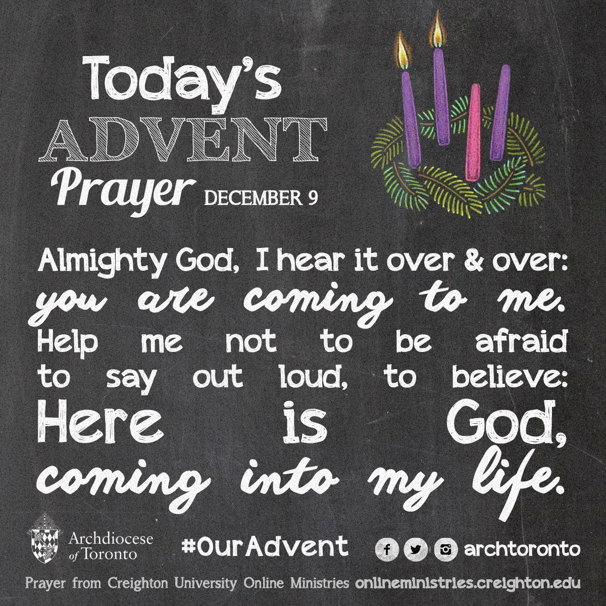 prayer for the second week of advent tuesday ouradvent. Black Bedroom Furniture Sets. Home Design Ideas