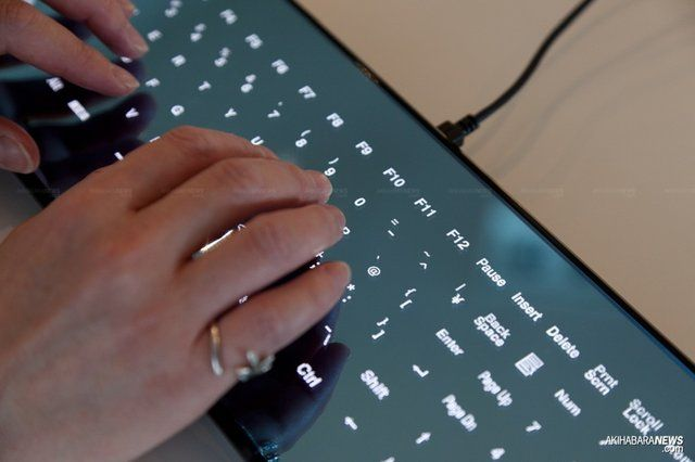 Minebea Cool Leaf Keyboard