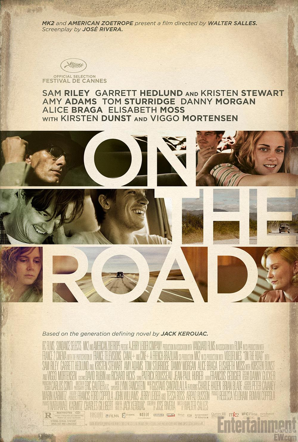 'On the Road' one sheet: How do you sell the Beat Generation? -- EXCLUSIVE