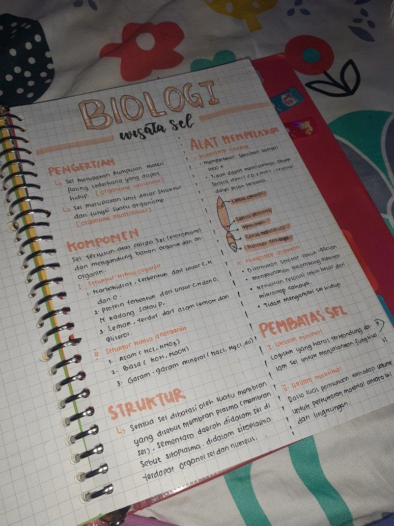 Biology Notes V Perencanaan Buku Buku Pelajaran
