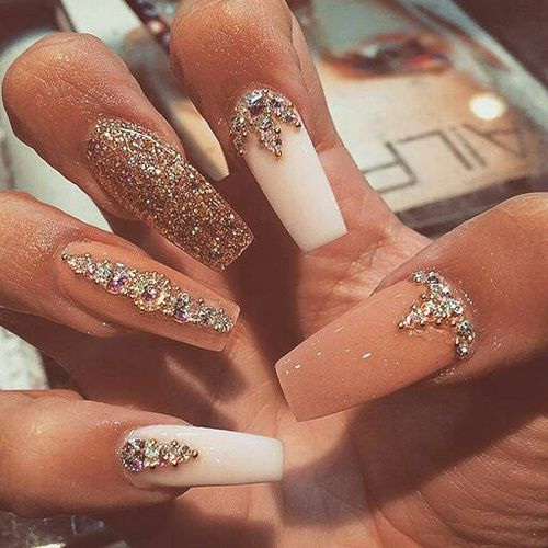 Imagem de nails and pink | Catty gals 2 | Pinterest | Acrylics, Nail ...