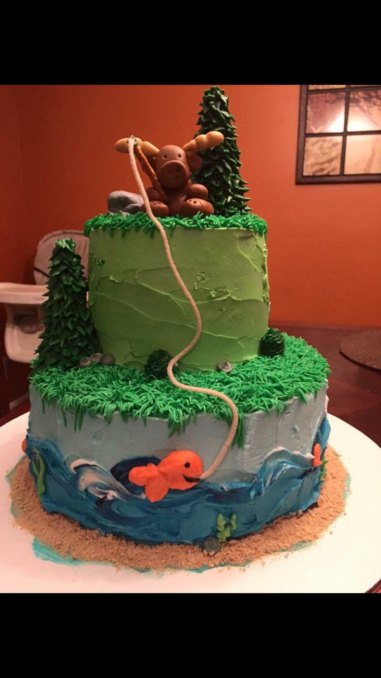 Moose Cake Cakes Pinterest Moose Cake Cake And Birthdays