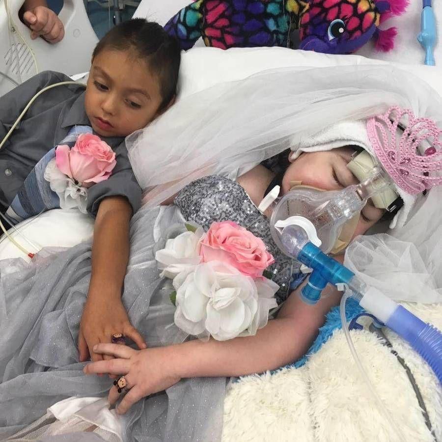 Den lille pige sov ind uden smerter. Foto: Privat