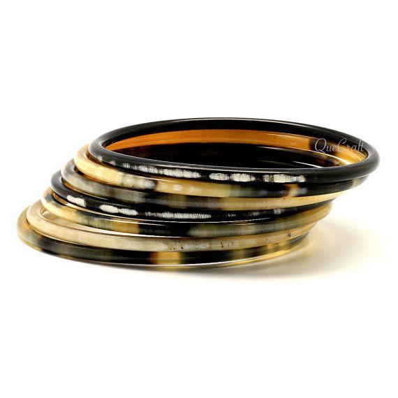 Horn Bangle Bracelets Q9258