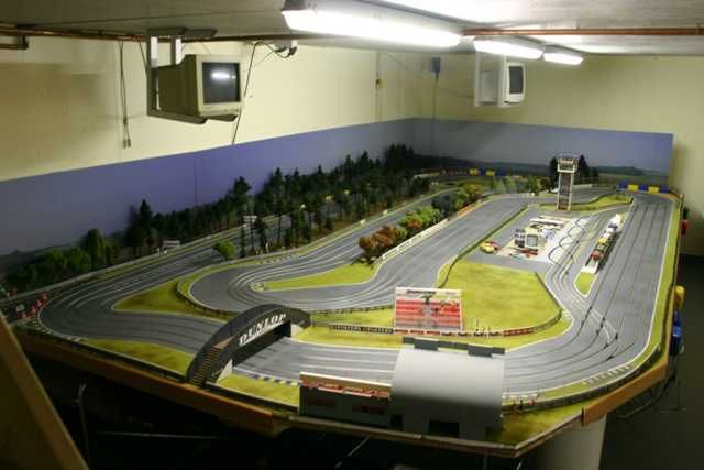 custom routed slot car track Google Search Slot cars