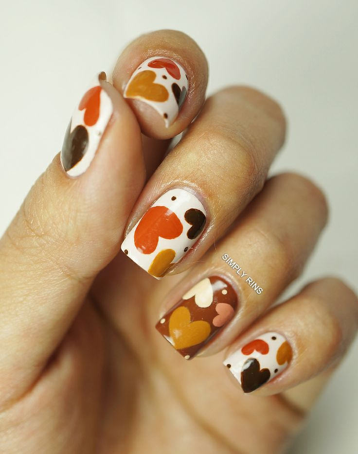 33 Earthy and Stylish Fall Nail Art Ideas | Earthy, Stylish and ...
