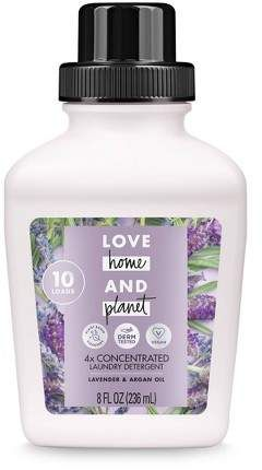 Love Home Planet Lavender Argan Oil Concentrated Laundry