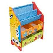 Delta Children Multi Bin Toy Organizer Sesame Street Sesame Street Toys Toy Organization Sesame Street Books