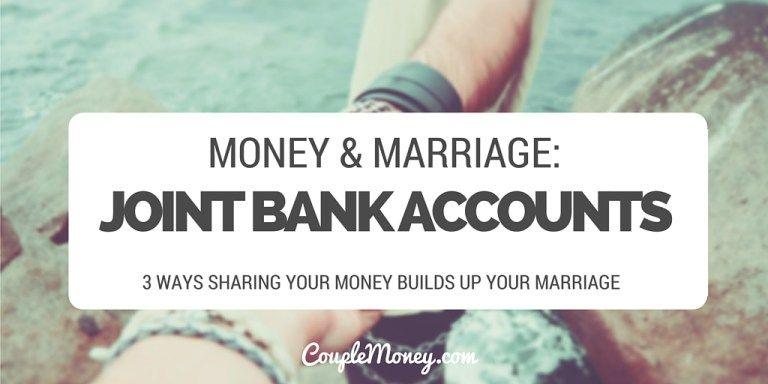 Copy of joint bank accounts couple money couples money
