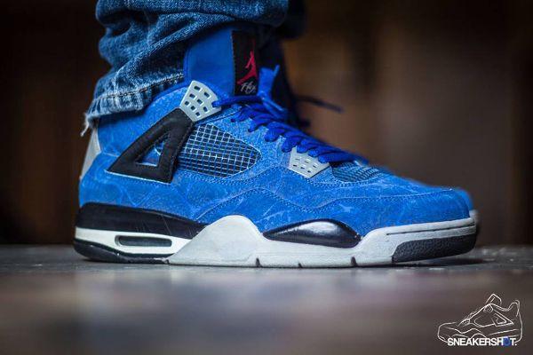 100% najwyższej jakości podgląd tanie z rabatem Air Jordan 4 Laser Blue par Sneakershot (21.11.2013 ...