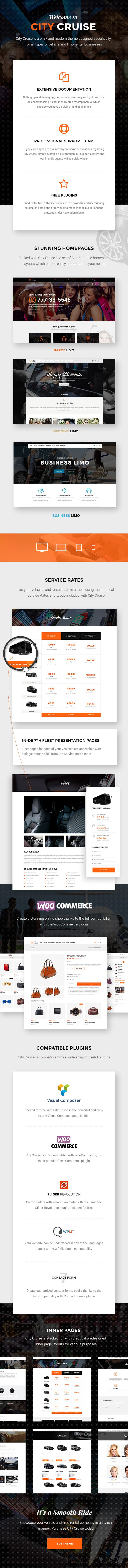 Download City Cruise – A Limousine and Car Rental Theme (Business)