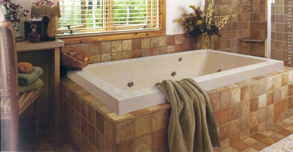 Modern Portable Whirlpool Bath Design By Jacuzzi Bathtubs