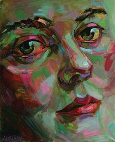 painting with mix of complementary colors - Google Search ...
