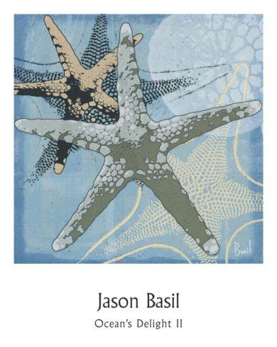 Ocean's Delight II Print by Jason Basil at Art.com