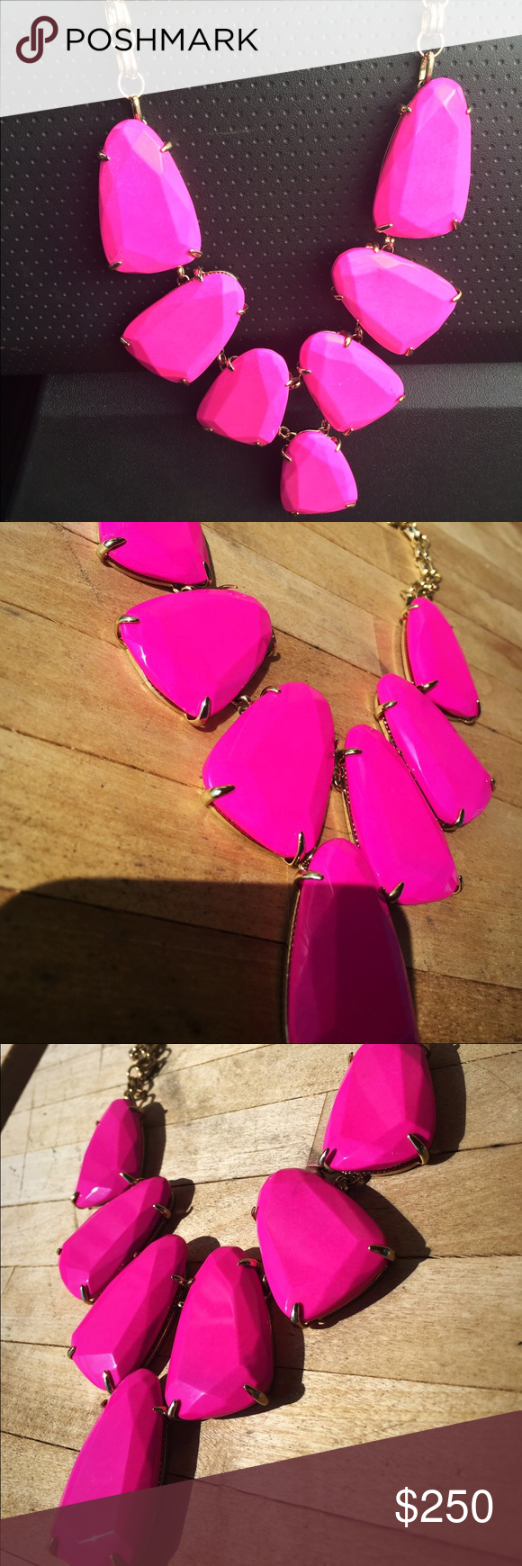 Kendra Scott magenta Harlow Magenta Harlow, nwot Perfect condition. 210 🅿️🅿️ Kendra Scott Jewelry Necklaces