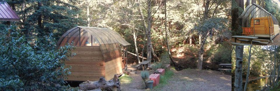 Big Sur Camping Cabins   Also Have Tent Sites And Proper Cabins