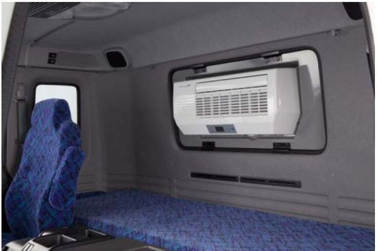 Solar Powered Air Conditioning System 2 Skoolie Cargo