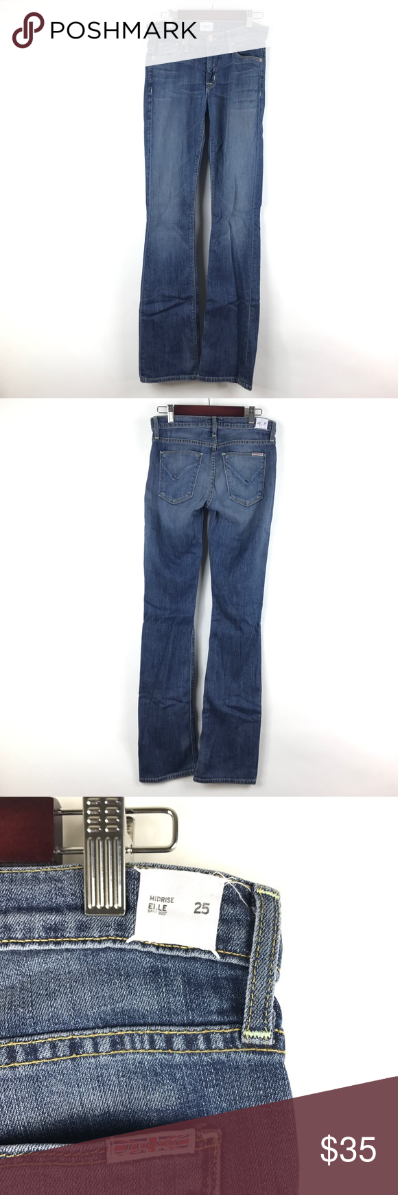 Hudson elle mid rise bootcut jeans