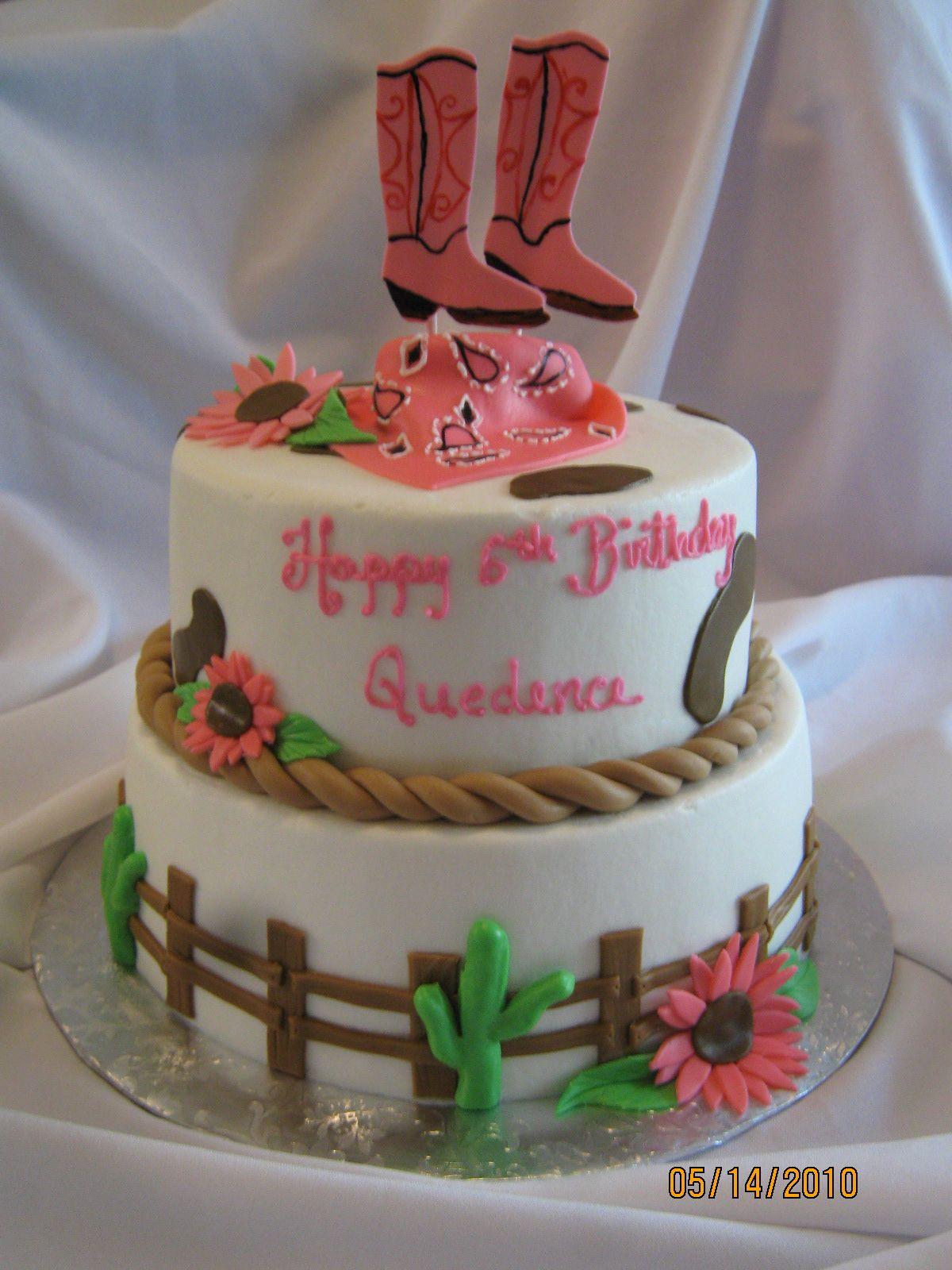 Wondrous Western Cake With Images Cowgirl Cakes Western Birthday Cakes Birthday Cards Printable Benkemecafe Filternl