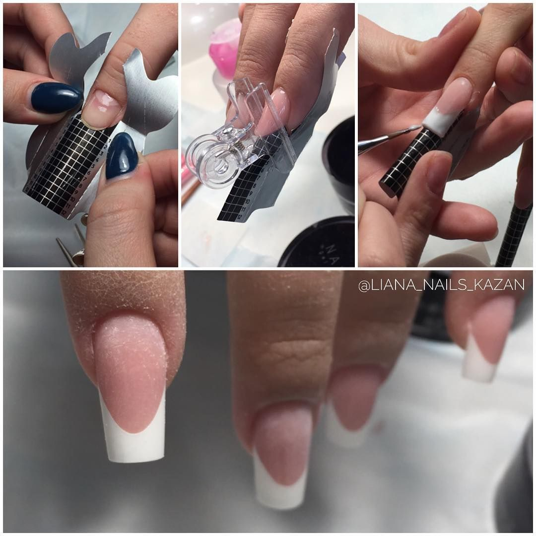 Наращивание ногтей акрилом в домашних условиях - что нужно,