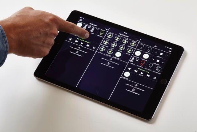Ihaus 2 app nun mit verkn pfung von knx komponenten in der neuen ihaus 2 app sind nun auch knx - Android app ideen ...