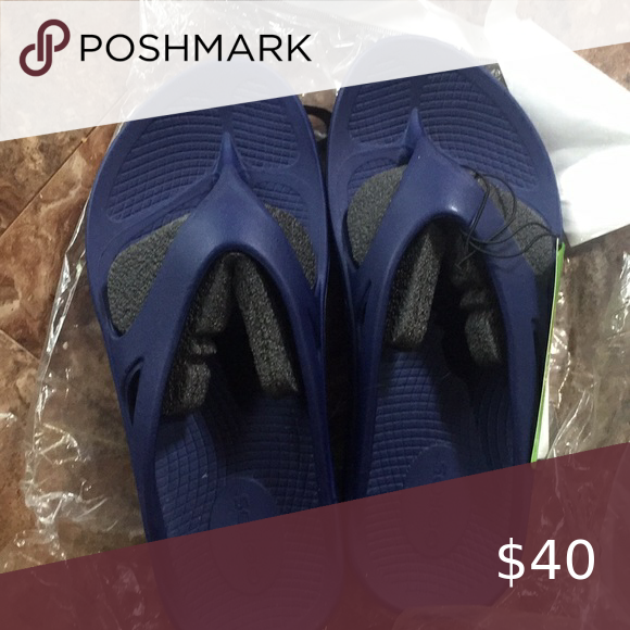 Oofos Ooriginal Recovery Technology Nwt Oofos Ooriginal Nwt Navy W7 M5 Eu 38 Oofos Shoes Sandals Women Shopping Nwt Technology
