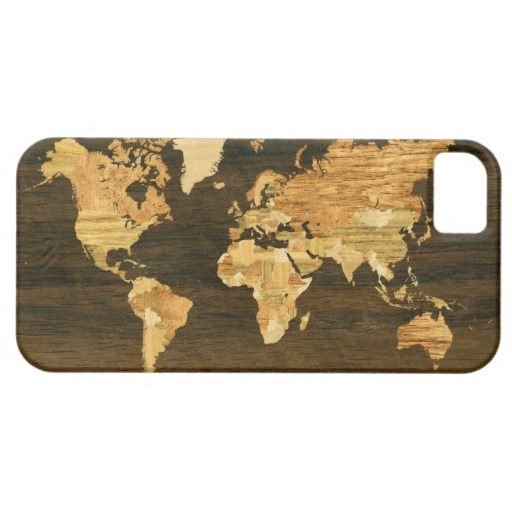 Wooden world map iphone se55s case store and phone cheap price guarantee wooden world map iphone 5 case wooden world map iphone gumiabroncs Images
