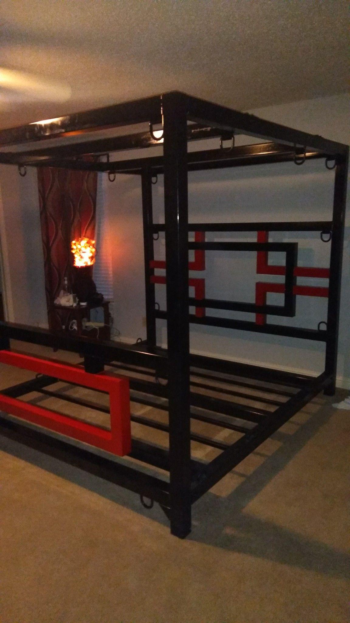 Custom Bdsm Bed Frame Done By Bound To Serve Bedroom Pinterest