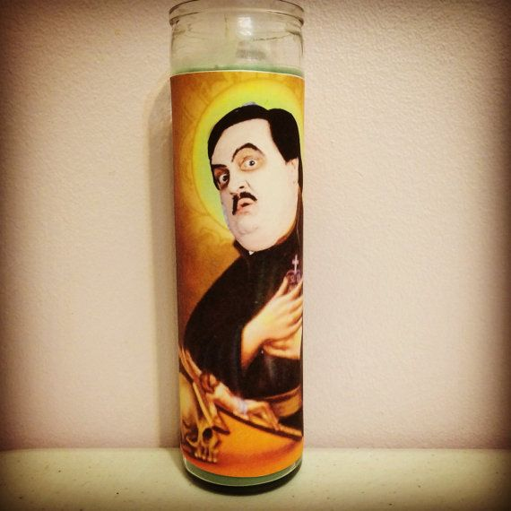 Paul Bearer Prayer Candle by TheRebelGypsy on Etsy