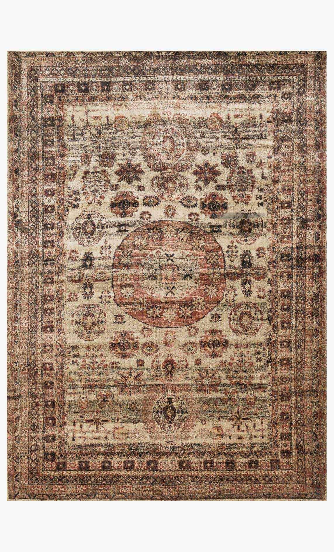 Af 03 Champagne Multi Loloi Rugs Area Rugs Vintage Inspired Rugs Rugs