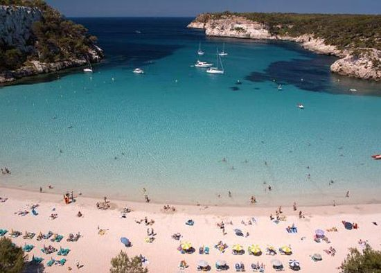 Meliá Gavilanes Cala Galdana Menorca Turismo Islas Baleares