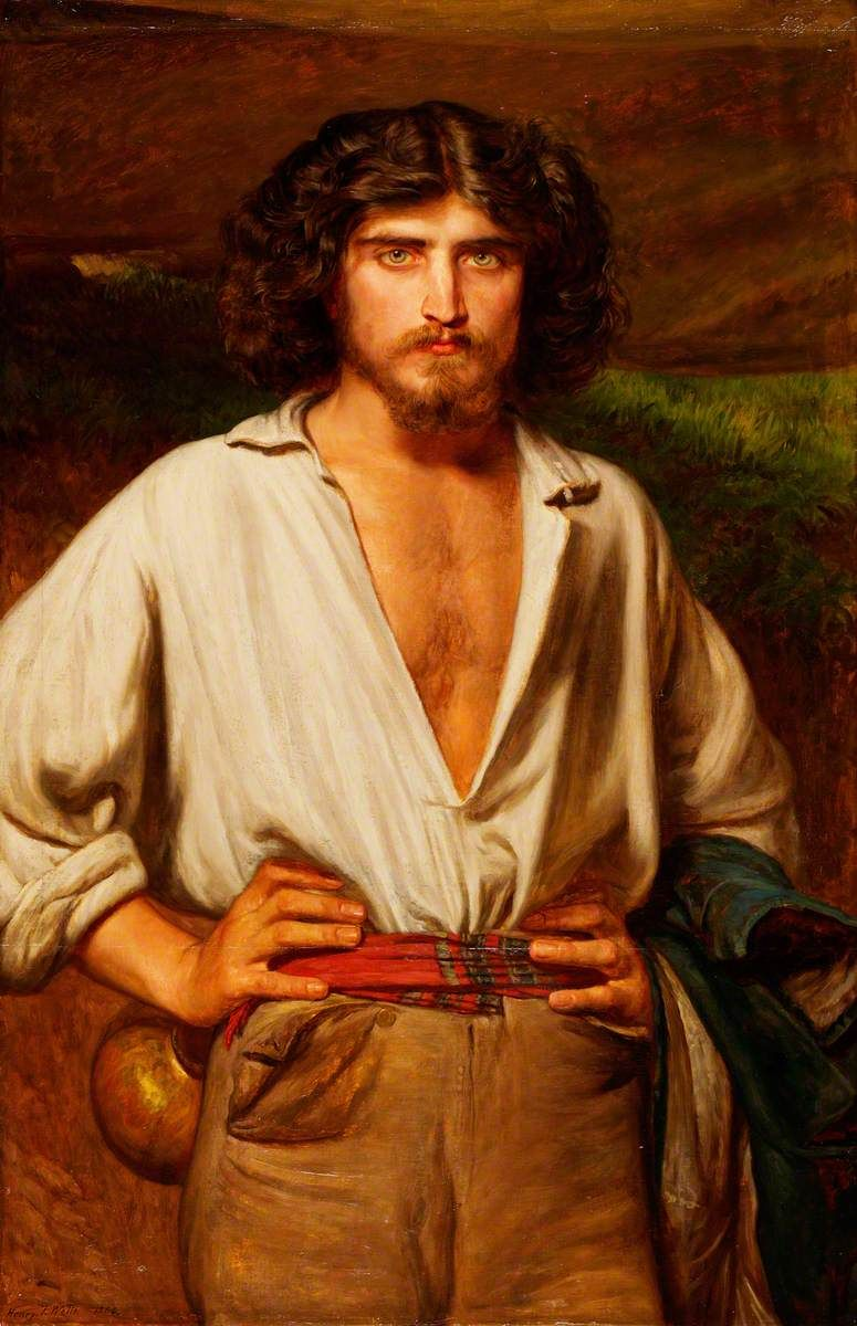 Henry Tanworth Wells RA (18281903) — Man with a Beard and