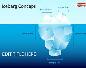 The tip of the iceberg powerpoint template lean pinterest the tip of the iceberg powerpoint template toneelgroepblik Image collections