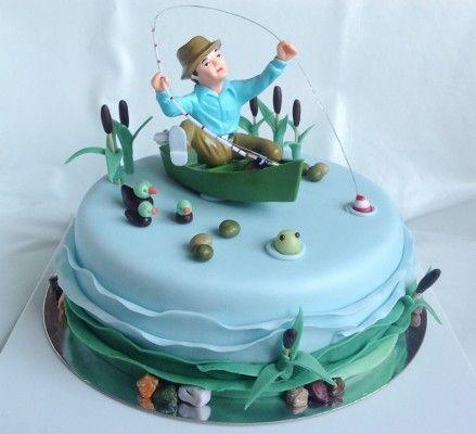 Dort pro rybáře / Cake for fisherman