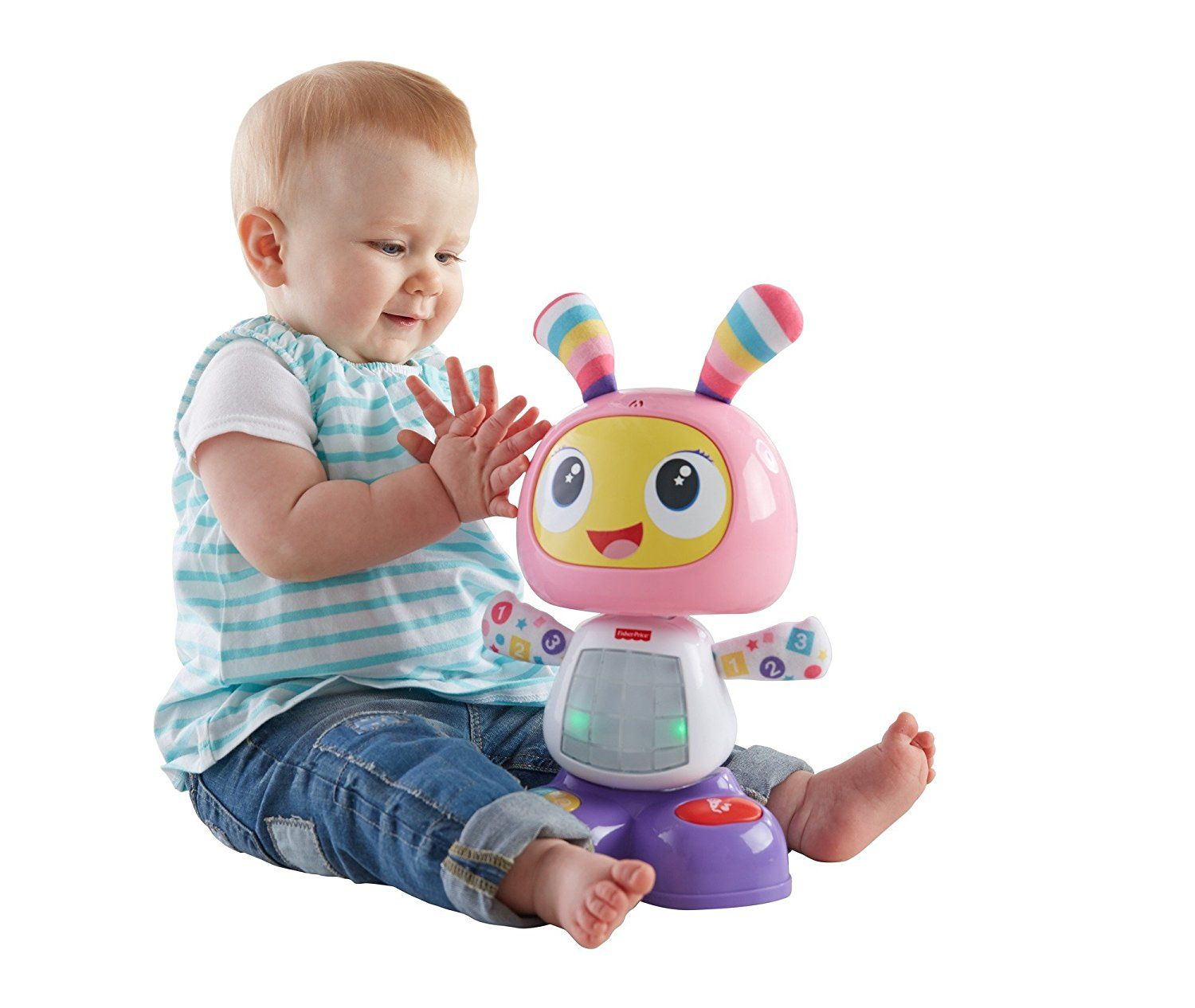 Babies Interactive Toys Bright Beats Dance And Move Beatbelle By Fisher Price
